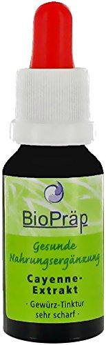 Preisvergleich Produktbild Biopräp Cayenne Extrakt 20ml