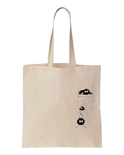 little-fluffy-soot-sprites-in-the-pocket-cotton-canvas-tote-bag