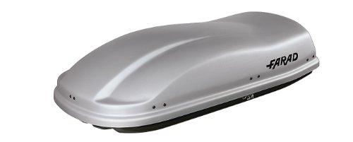 FARAD Dachbox Marlin 400L grau - TÜV/GS geprüft