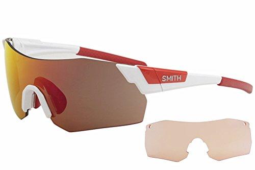 a769933477 Smith PIVLOCKARE.MAXN X6 VK6 99, Occhiali da Sole Unisex-Adulto, Bianco