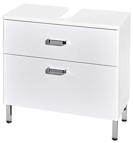 Home Creation Waschbecken Unterschrank Badezimmermöbel Bad Schrank Unterschrank Weiss -