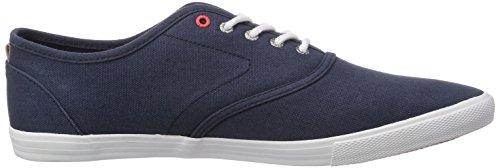 Jack & Jones - Baskets Jjspider Basic En Toile Noir Marine, Sneaker Basse Uomo Blu (blau (black Navy))