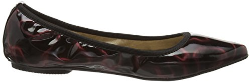 Butterfly Twists Janey, Ballerines femme Rouge - Red (Berry Cosmos Patent)
