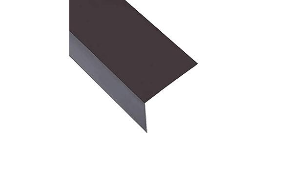 vidaXL 5x 90°Winkelprofil L-Form Aluminium Grün 170cm 30x30mm Aluprofil Winkel