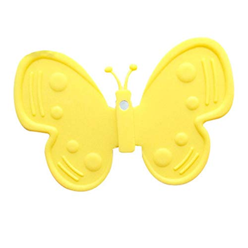 Kakiyi Kühlschrank Kühlschrankmagnete Stereo-Schmetterlings-Aufkleber Notepad Aufkleber Cartoon-Dekorationen 04 Stereo