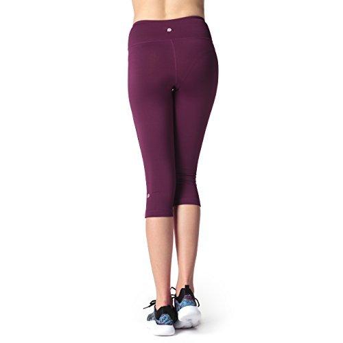 Lapasa Damen 3/4 Sport Leggings blickdicht, dehnbar und luftig, 3/4 Yoga Sporthose Abbildung 3