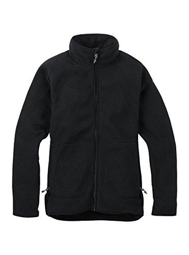 Burton Damen Lira Full-Zip Fleece Fleecepullover, True Black, XS Burton Full Zip Sweatshirt