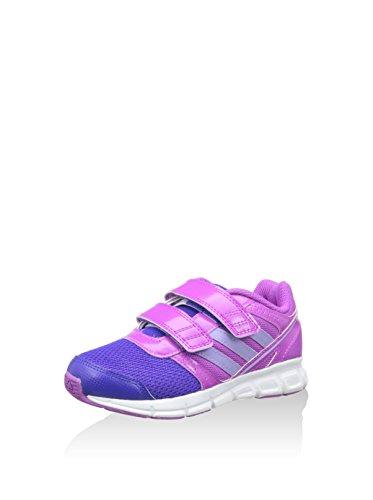 adidas Hyperfast, Chaussures de Running Entrainement Mixte Enfant Violet