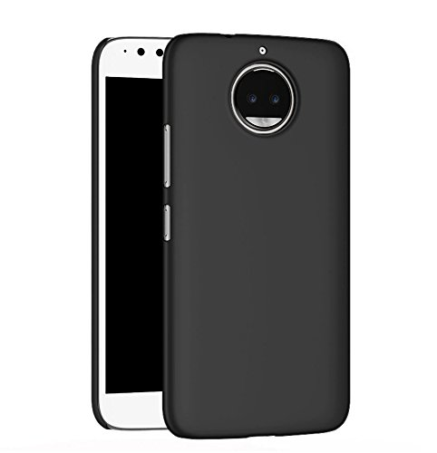 For Moto G5S Plus (August 2017 Launch - 5.5 INCH) , Back Cover Case for Moto G5S Plus Back Cover Case - Black