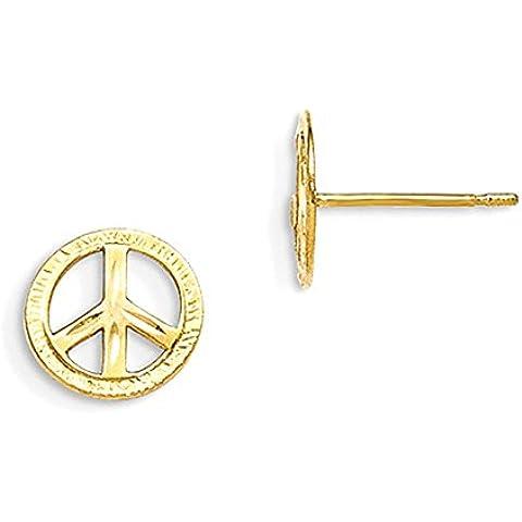 Pace 14k Madi bambini K Iscriviti orecchini post