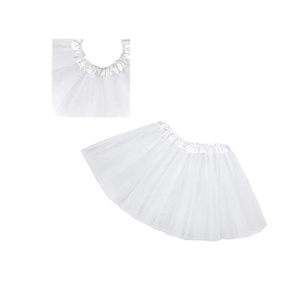 Falda del tutú de moda de 3 capas de la princesa vestido de ballet Ballet del Consejo de Medio tul moda falda de la… 5