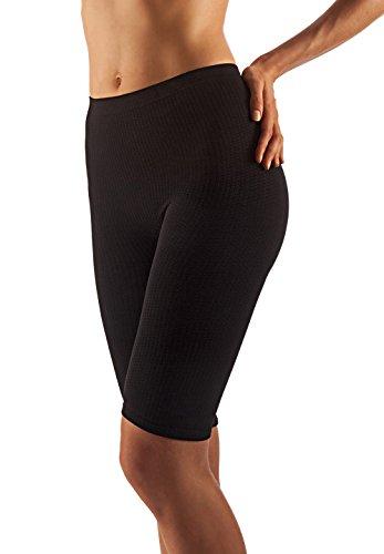 Farmacell 112 (nero, s/m) short massaggiante pantaloncino effetto anticellulite