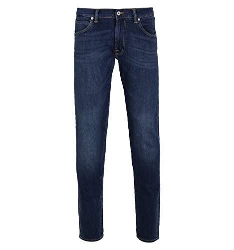 Edwin ED-85 CS Rot gelistete Selvage Blast Wash Jeans (Denim Blast Jeans)