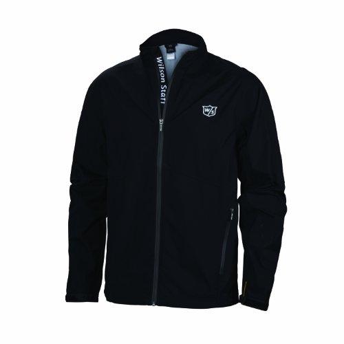 Wilson Textil Golf Fg Tour M3 Rain Suit Top – Men's Golf Jacket (Nylon) Color Black Size: S