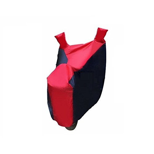 AutoSun Pearl imported Fabric Bike Body Cover BLUE & RED YAmaha R15  available at amazon for Rs.329