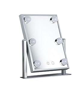 DRQ LED Spiegelleuchte Schminklicht Spiegellampe Schminkleuchte Make-up Licht Schmink Lampe Schminktisch Leuchte Spiegellicht Set f/ür Kosmetikspiegel Schminkspiegel