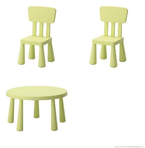 Tavoli Per Bambini In Plastica.Mammut Ikea Tavolino Per Bambini Colore Verde Chiaro E Mammut