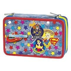 DC SUPER HERO GIRLS GIRL POWER ASTUCCIO 3 ZIP