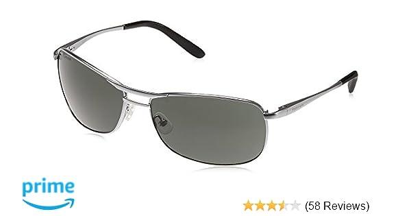 dac29b960557 Fastrack Semi-Rimless Men's Sunglasses - (M032GR3|60|Green): Amazon ...
