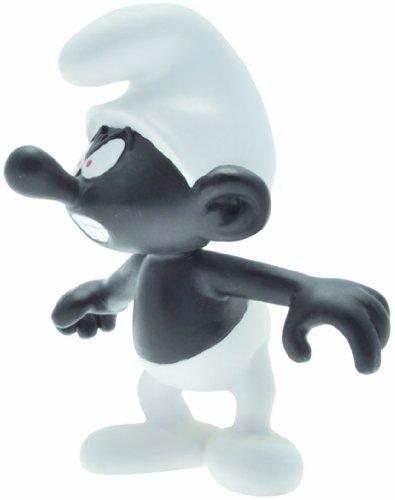 Plastoy Los Pitufos - Figura de colección de un pitufo, Color Negro