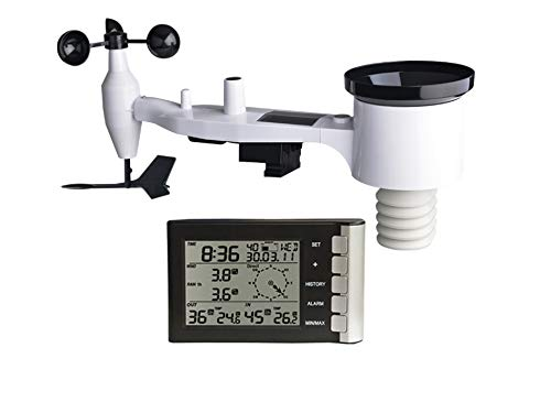 Froggit WH5300 SE Version 2018 868 MHz, mástil Incluye Sensor inalámbrico impermeable Lluvia, Wind...