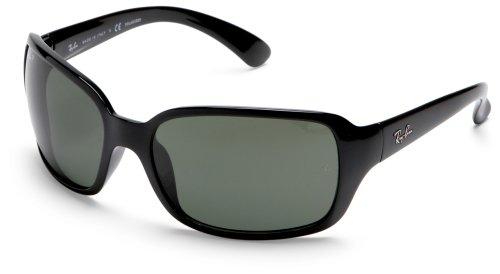 Preisvergleich Produktbild Ray Ban Für Frau Rb4068 Black / Grey Gradient Kunststoffgestell Sonnenbrillen