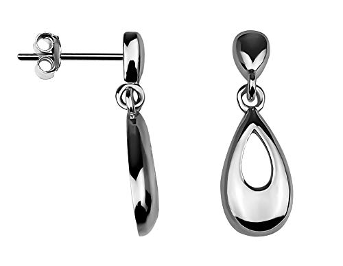 SOFIA MILANI Damen Ohrringe Ohrstecker Oval Silber 20542 - Silber Ohrringe Oval