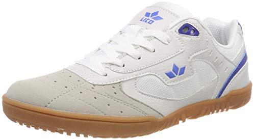 Lico Unisex Basic Multisport Indoor Schuhe, Weiß (Weiß/Blau Weiß/Blau), 42 EU
