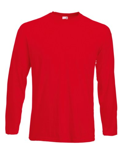 Fruit of the Loom - Sweat à capuche - Femme x-large Rouge - Rouge
