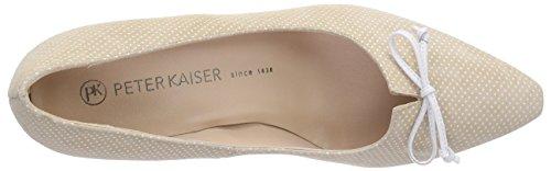 Peter Kaiser Meola, Chaussures à talons - Avant du pieds couvert femme Beige - Beige (LANA SPILLO WEISS  CRAKLE 705)