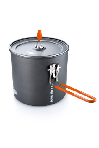 Gsi Outdoors, Halulite Boiler, The Perfect Packable Pot, Superior Backcountry Cookware Since 1985, 1.8 Liter