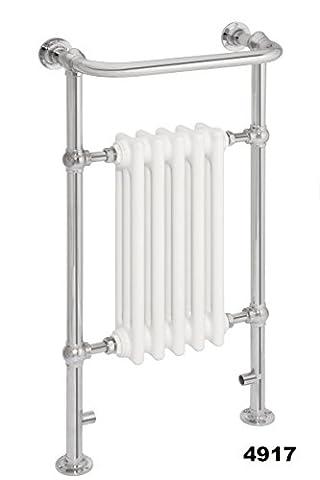 Traditionelles Beheizter Handtuchwärmer Viktorianisches chrom Spalte Handtuch Warmers 952x 500 (Boden Montiert Handtuchwärmer)