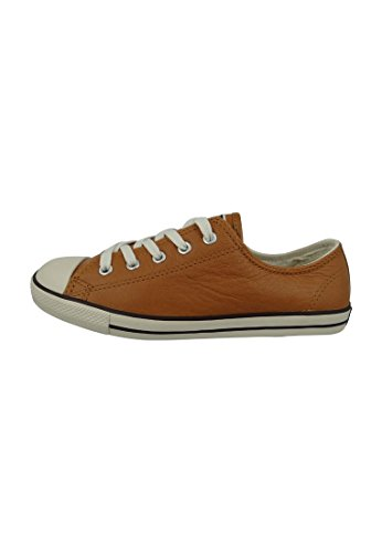 Converse Dainty Leath Ox 289050-52-8 Damen Sneaker Copper Brown
