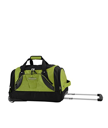 travelers-club-luggage-21-rolling-duffel-bag-green
