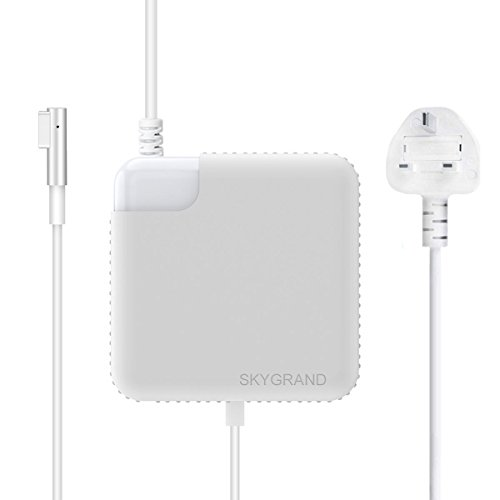 Macbook Pro Charger, SkyGrand Replacement 60W Magsafe L Shape Connector Power Adapter Charger for Apple Macbook and 13 inch Macbook Pro A1181 A1278 A1184 A1330 A1342 A1344 - Before Mid 2012 (With Extension Cable)