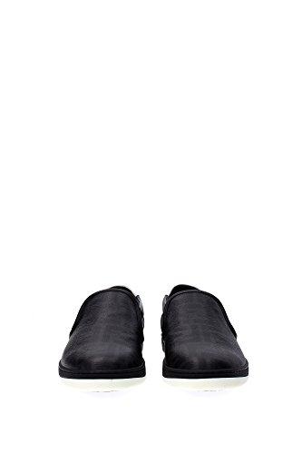 7E0788W9YF0KHD Fendi Pantoufle Homme Tissu Noir Noir