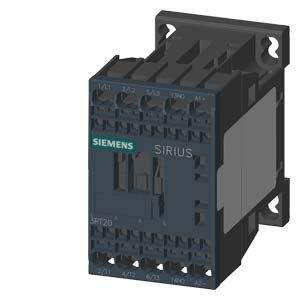 SIEMENS - CONTACTOR AC3 5 5KW 400V 1NA 24V DIODO RESORTE