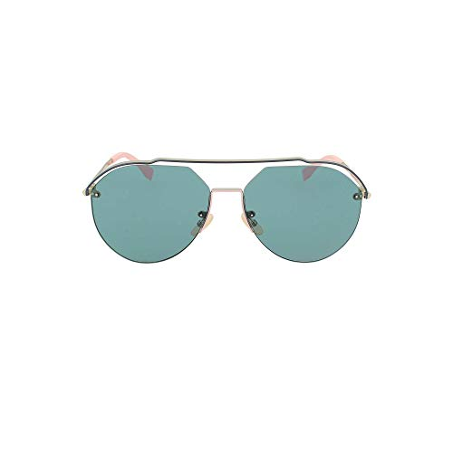 Fendi Ff M0031/s Sonnenbrille Mann Gold