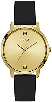 GUESS 40MM Diamond Dial Silicone Watch