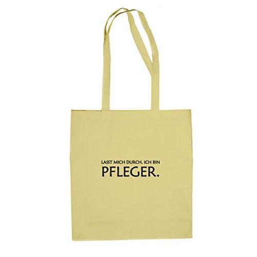 Lasst mich durch. Ich bin Pfleger - Stofftasche / Beutel, Farbe: (Kostüm Nerd Overall)