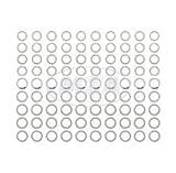 Set Ausgleichsscheiben, je 10x Stück, Gesamt: 90 Stück für Soemtron-Motor SR1, SR2, SR2E, KR50, SR4-1 Spatz - zur Kurbelwelle und Abtriebswelle - DIN