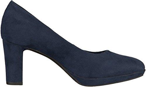 Tamaris 22420, Scarpe con Tacco Donna, Nero Blu (Navy)
