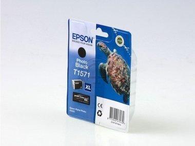 Epson Stylus Photo R 3000 (T1571 / C 13 T 15714010) - original - Tintenpatrone schwarz - 25,9ml