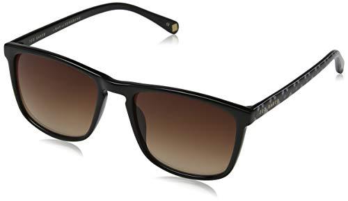 Ted Baker Herren Marlow Sonnenbrille, Schwarz (Black/Brown), 54.0