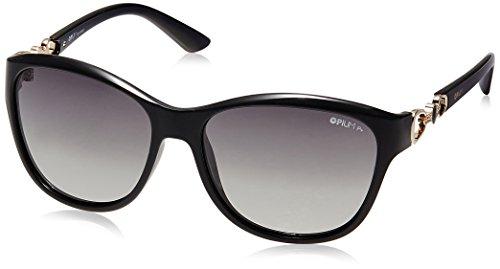 ce366bcf2a12 Opium Polarized Women Sunglasses Op 1307 C04 57 Green Lens Op 1307 C04