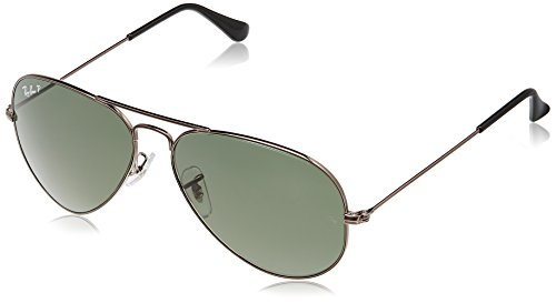 Rayban Aviator unisex Sunglasses (RB3025 58 millimeters Green ... a4a5968a3300