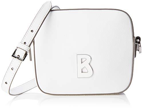 Bogner Damen Zermatt Rosa Shoulderbag Xshz Schultertasche, Weiß (White), 6.5x14.5x17.0 cm