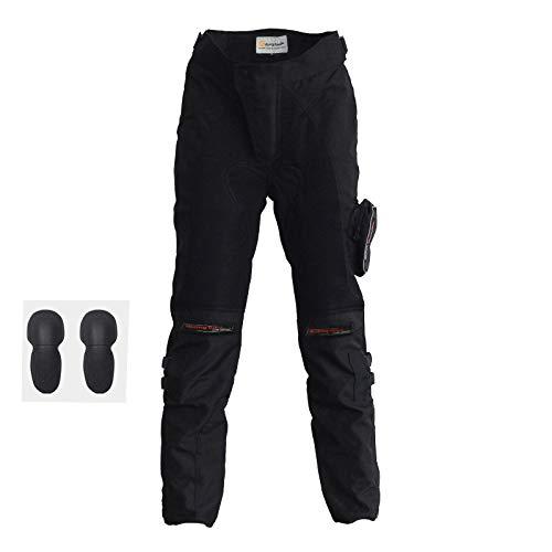 ETbotu - Pantalones de Ciclismo de Verano para Motocicleta, Tejido de Malla...