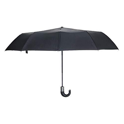 Cebbay-Paraguas Plegable Hombre Abrir y Cerrar Automático Mini Paraguas Compacto Antiviento y Ligero Mujer, Hombre, niños