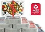 ASS Altenburger Karten Spielkarten in Profi-Qualität für Romme, Bridge, Canasta, Poker oder Skat geeignet/ 8 Spiele Decks a 55 Blatt Rot-Blau